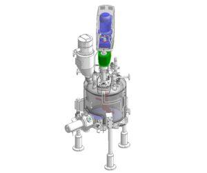 Нутч-фильтр сушилка с перемешивающим устройством Bachiller