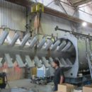 Horizontal vacuum paddle dryer Bachiller