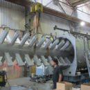Горизонтальная вакуумная сушилка реактор Bachiller