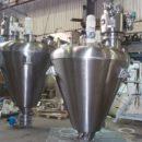 Вертикальная вакуумная коническая шнековая сушилка Bachiller