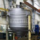 Вертикальная вакуумная сушилка со спиральной мешалкой Bachiller